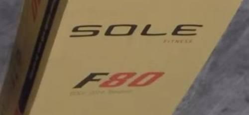sole f80 cardboard